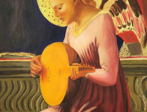 Vierge à l'Enfant et quatre anges, Polyptyque de Pise